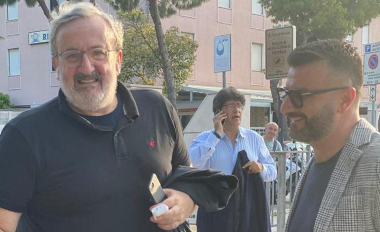 Giuseppe Tupputi e Michele Emiliano a Barletta #2