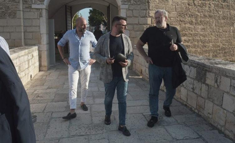 Giuseppe Tupputi e Michele Emiliano a Barletta #4